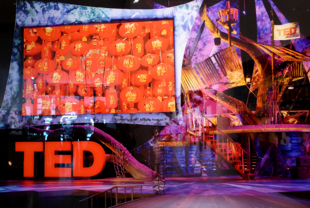 Liu Bolin au TED Hollywood 2013